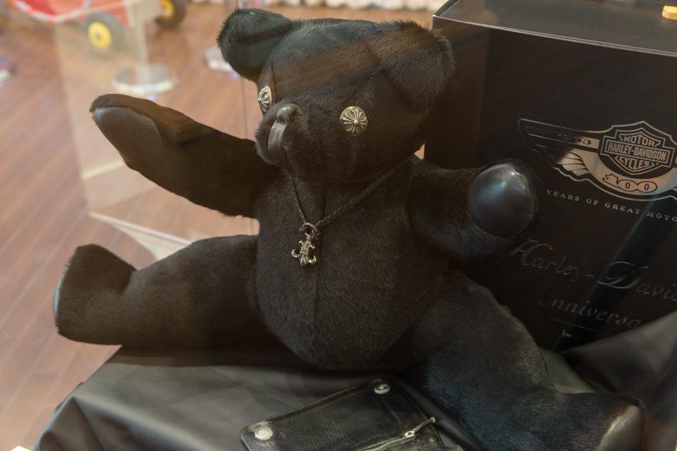 CHROME HEARTS TEDDY BEAR